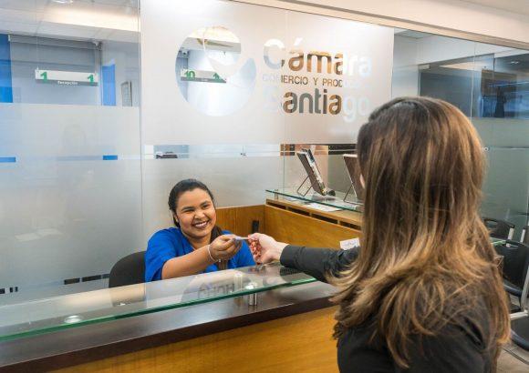 Cámara de comercio, Registro Mercantil, Cámara de Comercio y Producción de Santiago, reinicia operaciones, protocolo